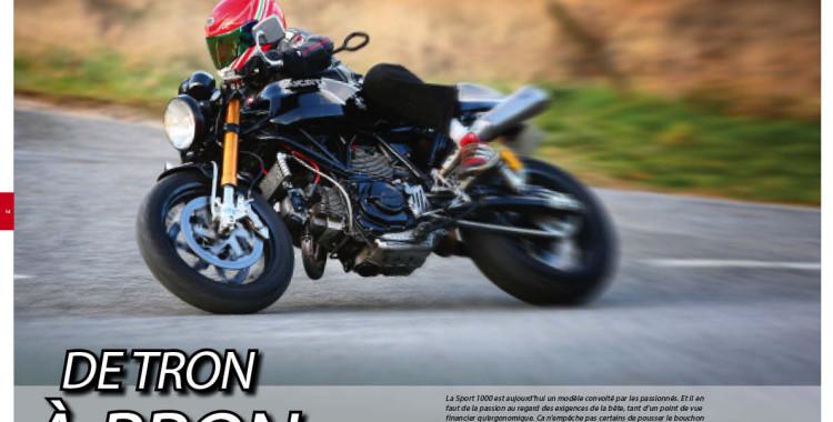 De Tron à Bron : Bron Motos dans le Desmo Magazine n°72
