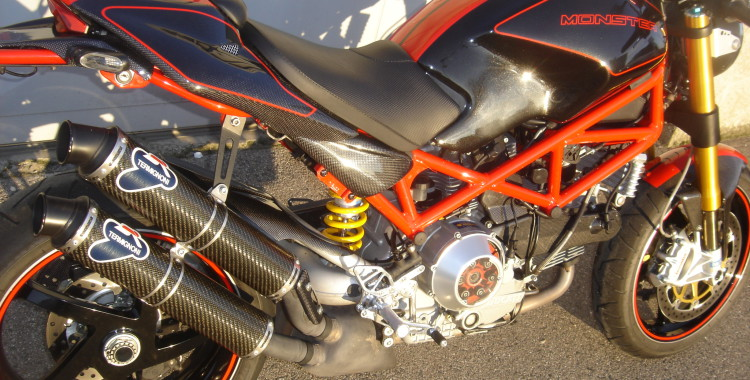 Ducati 1000 monster S2R « S » unique