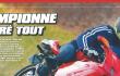 Championne malgré tout : Bron Motos dans le Desmo Magazine